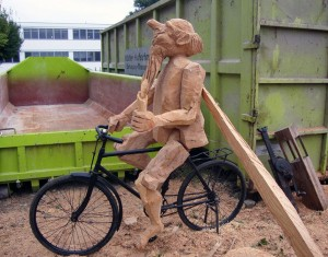 Arbeit aus dem Holzkurs 2015